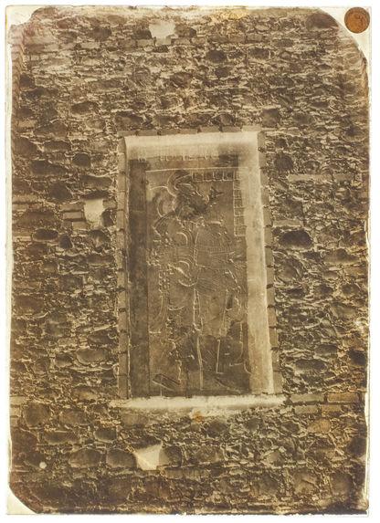 Palenque. Bas-relief enlevé du temple du soleil