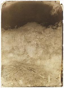 Palenque. Le Cerro alto de Palenque, vue prise de la galerie du palais