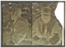 Tatar de Salyan (Arménie russe) (face et profil)