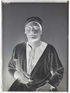 Egyptiens [Portrait d'un homme]