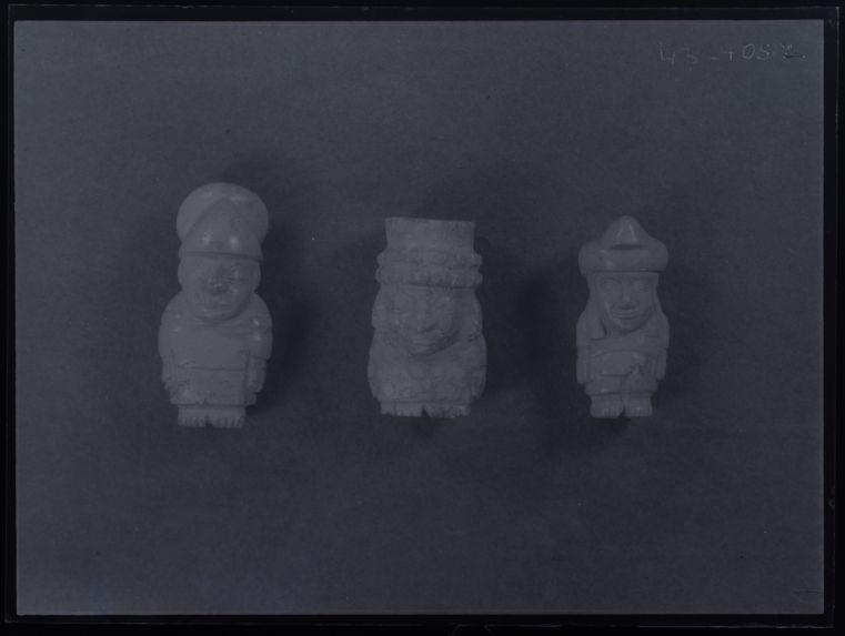 Figurines en turquoise