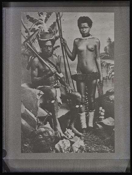 Sans titre [portrait d'un homme et une jeune femme]