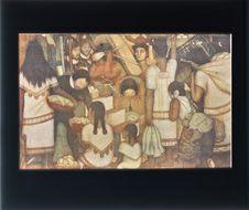 Sans titre [reproduction d'une peinture murale]