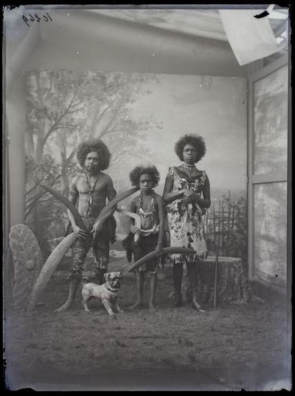 Australiens [Portrait de groupe]