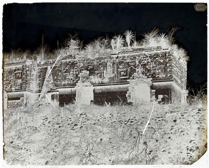 Palais du gouverneur à Uxmal
