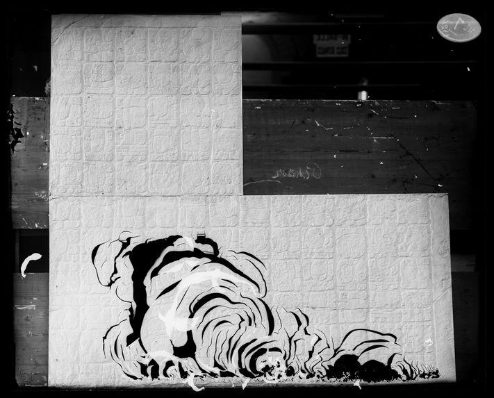 Palenque. Partie du grand bas-relief de la galerie extérieure