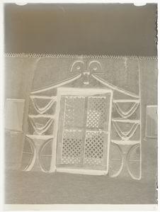 Palais du sultan : porte à claire-voie