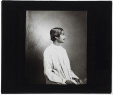 Satyendra Nath Tagore [portrait de profil]
