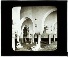 Tlemcen. Mosquée de Sidi-Halaoui (intérieur)