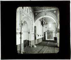 Tlemcen. Mosquée Sidi-bou-Médine (intérieur)