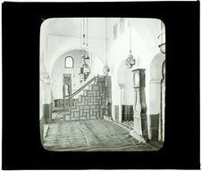 Tlemcen. Mosquée Sidi-Halaoui (intérieur)