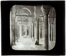 Kairouan. Galerie extérieure de la mosquée