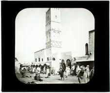 Kairouan. Le minaret Sidi-Okbah