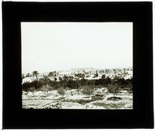 Médénine. Vue panoramique prise du bordj