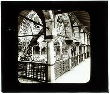 Constantine. Palais d'Ahmed Bey, cour intérieure