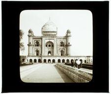 Delhi. Mausolée de Safdar Jang