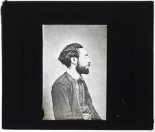 Juif d'Alger [Portrait de profil de Salomon Meskel]