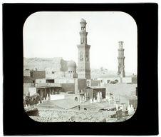 Le Caire. Tombeaux des Mameluks
