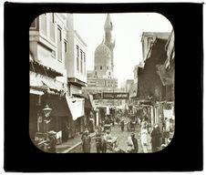 Le Caire. Mosquée Mohammed el Worde