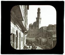 Le Caire. Mosquée Mohammed el Goldi