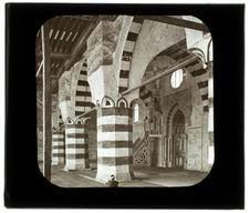 Le Caire. Mosquée bleue. Intérieur
