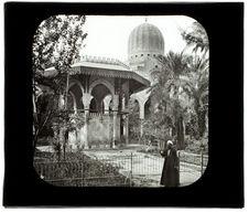 Le Caire. Mosquée Moherirt. La cour