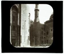 Le Caire. Mosquée d'Assan