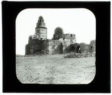 Le Caire. Mosquée sur le Mokattan