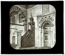 Le Caire. Mosquée el Merdani. Intérieur