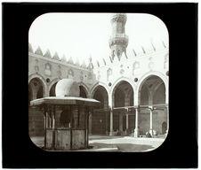 Le Caire. Mosquée el Merdani. Fontaine et minaret