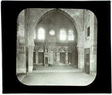 Le Caire. Mosquée du sultan Abi (intérieur)