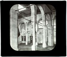 Le Caire. Mosquée Imman-el-Chafei. Intérieur