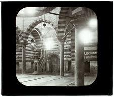 Le Caire. Mosquée Maerica Zaviha. Intérieur