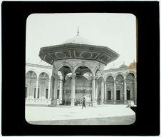 Le Caire. Mosquée Méhémet Ali. Fontaine des ablutions