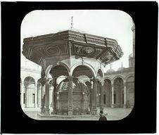 Le Caire. Mosquée Mohammed Ali. La fontaine