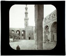Le Caire. Mosquée de Bakuk. Le minaret