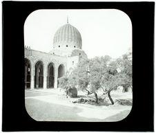 Le Caire. Mosquée de Bakuk. La cour