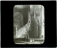 Le Mirab et la chaire dans la mosquée de Suleimanie