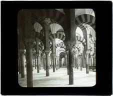 Cordoue. Intérieur de la mosquée