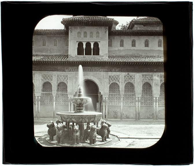 Grenade. Alhambra. Fontaine des Lions