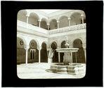 Séville. Fontaine de la maison de Pilate