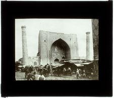 La Medresseh à Samarkande