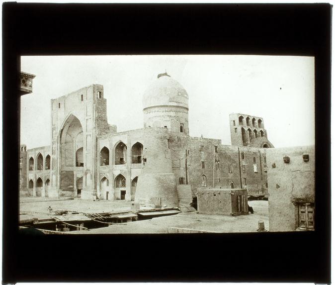 La Medresseh de Boukhara. Extérieur