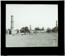 Lahore. Mosquée de Padishah. Vue générale