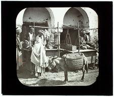 Kairouan. Une boucherie arabe bien installée