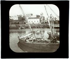 Sfax. vue sur le chenal