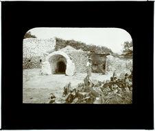 Tunisie. Nabeul. Un four à potier