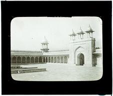 Agra. Moti Masjid (Mosquée la Perle)