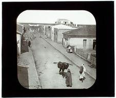 Souk-el-Arba. Une rue