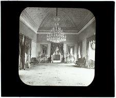 Tunis. Palais de Kassar-Saïd. Salle de café du Bey